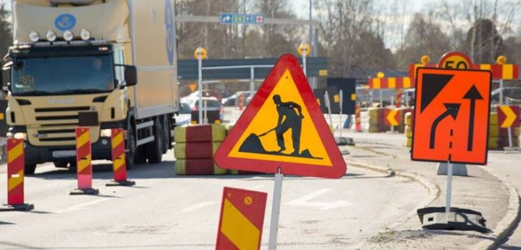 Kronetorpsvägen stängs av